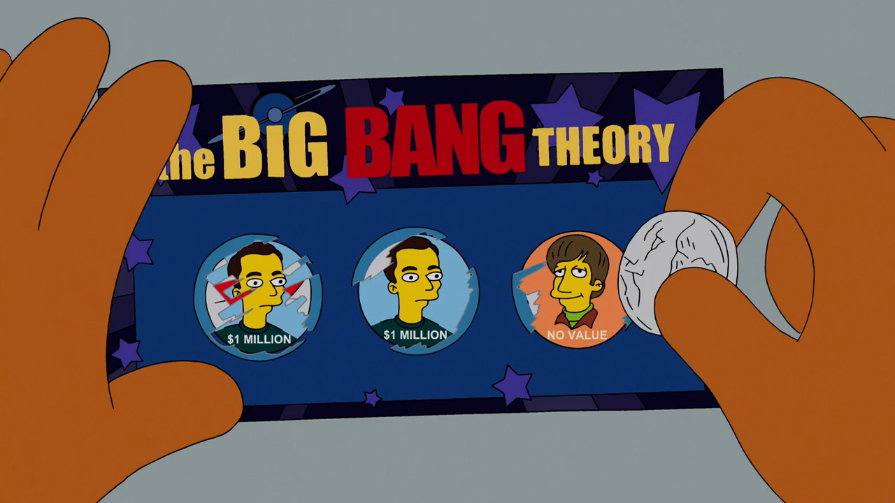 The Big Bang Theory - Wikisimpsons, the Simpsons Wiki