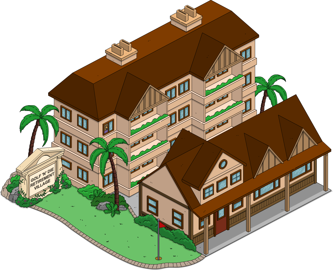 TSTO Golf 'N' Die Retirement Village.png