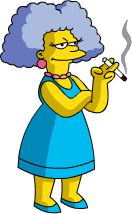Tapped Out Selma Take Smoke Break.png