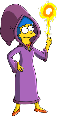 Tapped Out Wizard Marge.png
