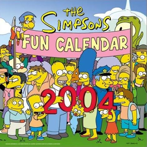 The Simpsons 2004 Fun Calendar.jpg