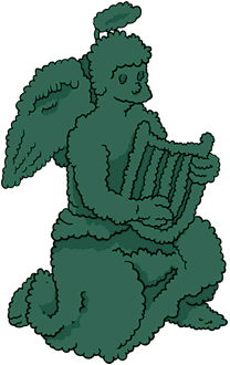 Tapped Out Angel Topiary.png