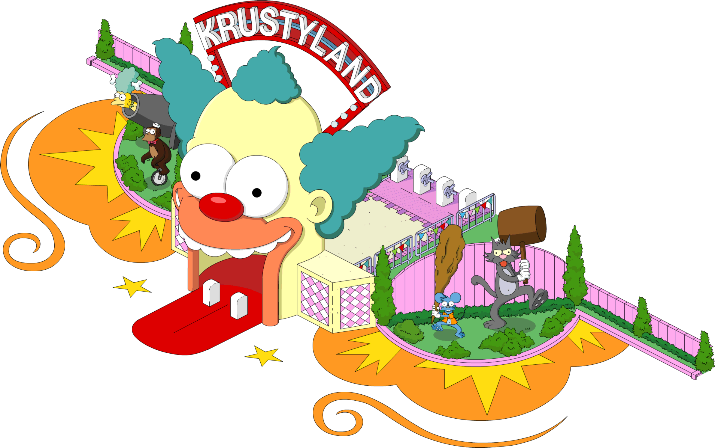 Tapped Out Krustyland Entrance.png