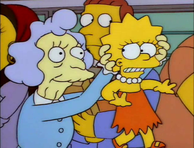 Alice Glick mistakes Lisa as Pineapple.png