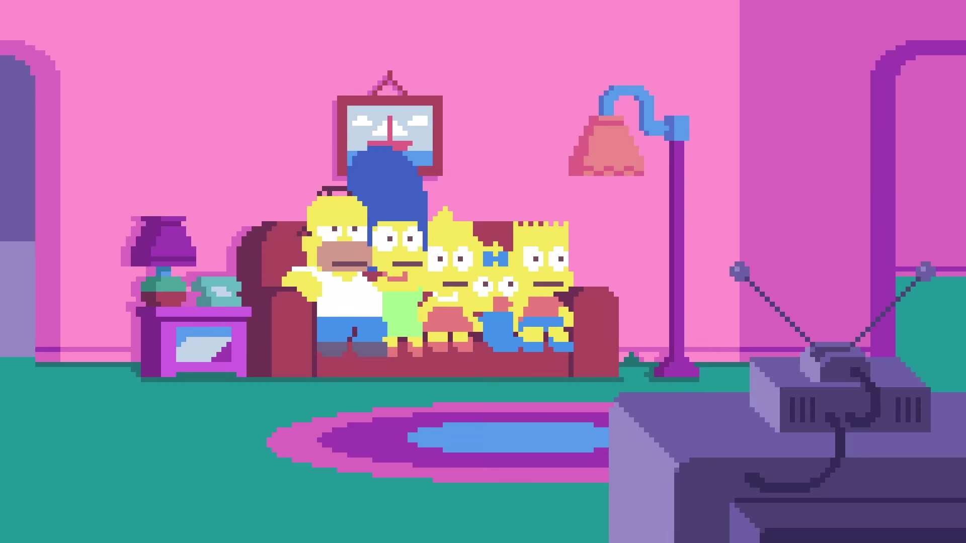 Simpsons Pixel couch gag.png