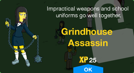 Grindhouse Assassin Unlock.png