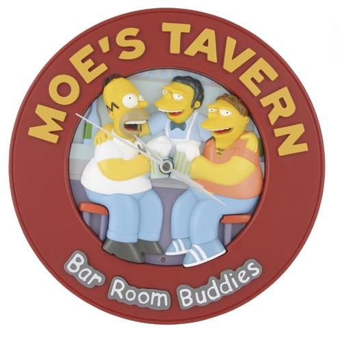 Moe's Tavern Talking Wall Clock.jpg