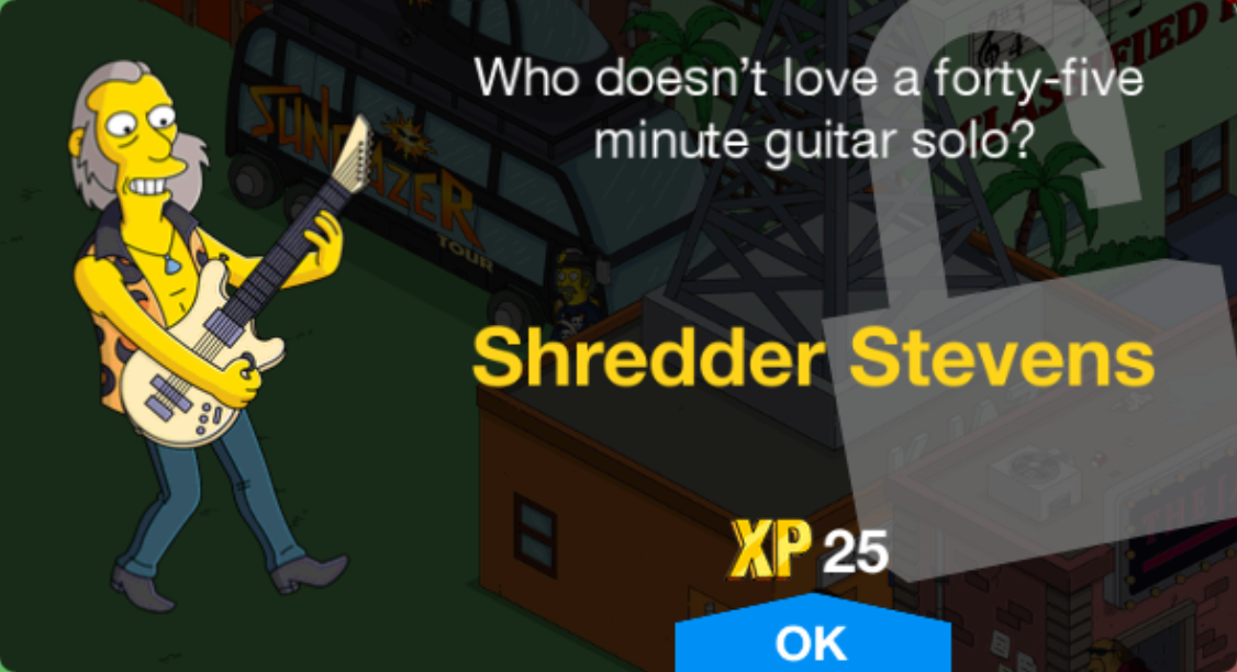 Shredder Stevens Unlock.png