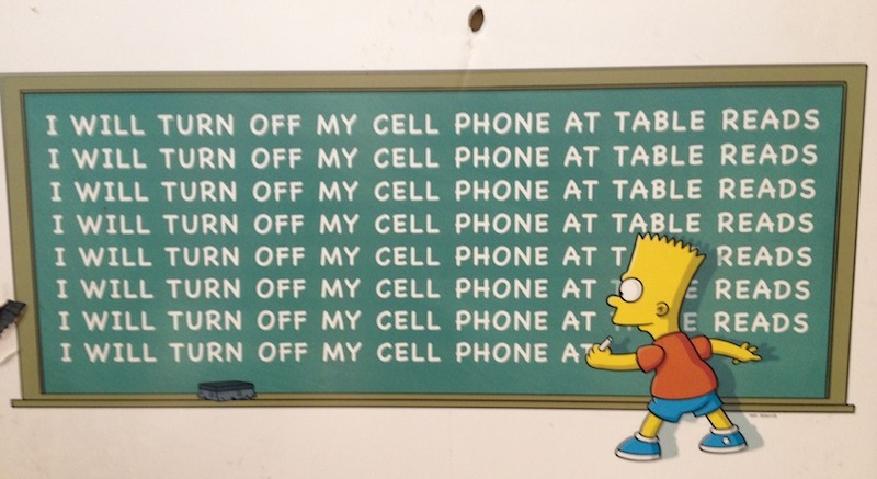 I Will Turn off my Cell Phone at Table Reads.jpg
