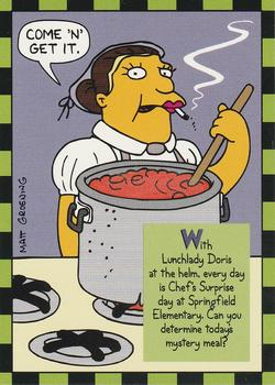 10 Lunchlady Doris (Skybox 1994) front.jpg