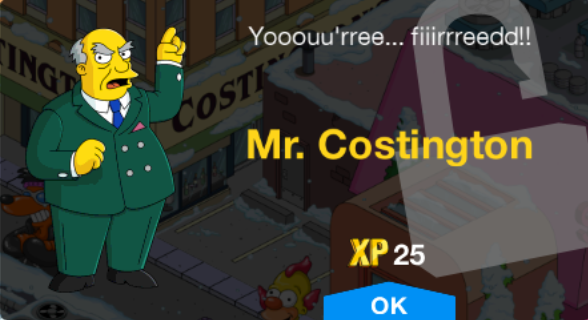 Tapped Out Mr. Costington New Character.png