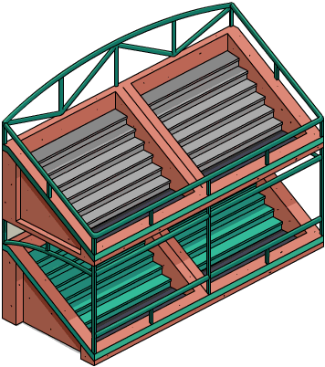 Clay Double Bleachers.png