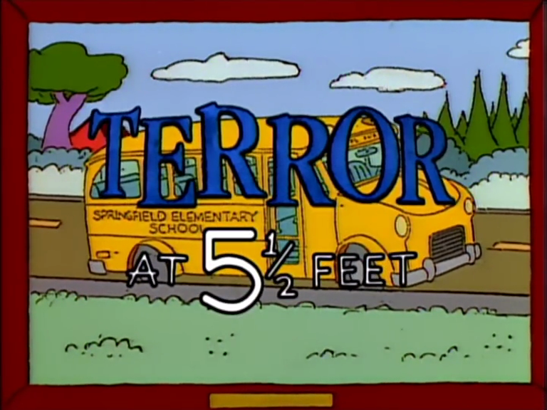 Terror at 5 and a Half Feet - Title Card.png