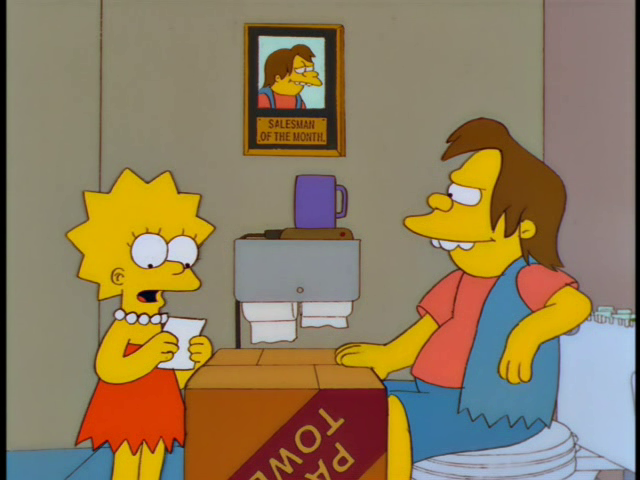 "Lisa Gets an ""A"".png"