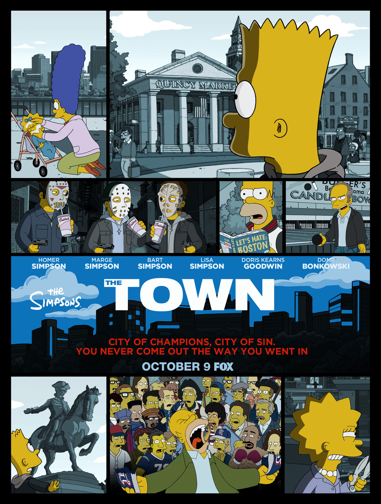 The Town Promo Poster