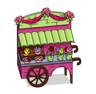 Tapped Out Lovely Flowercart.png