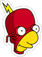 Tapped Out Radioactive Milhouse Icon.png
