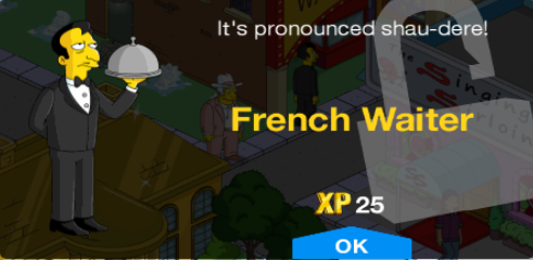 Tapped Out French Waiter Unlock.png