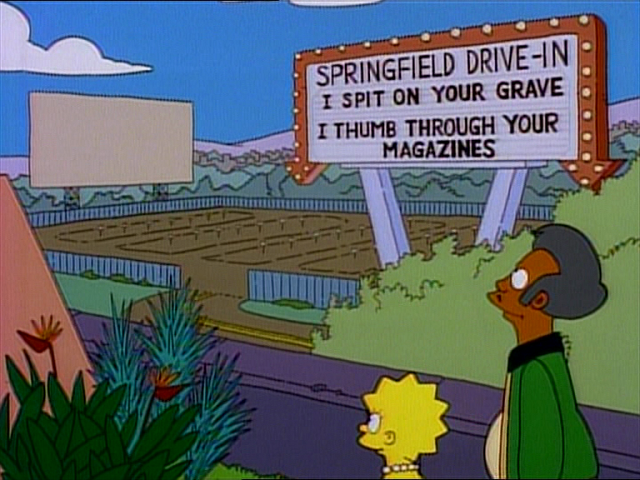 Springfield Drive In Wikisimpsons The Simpsons Wiki