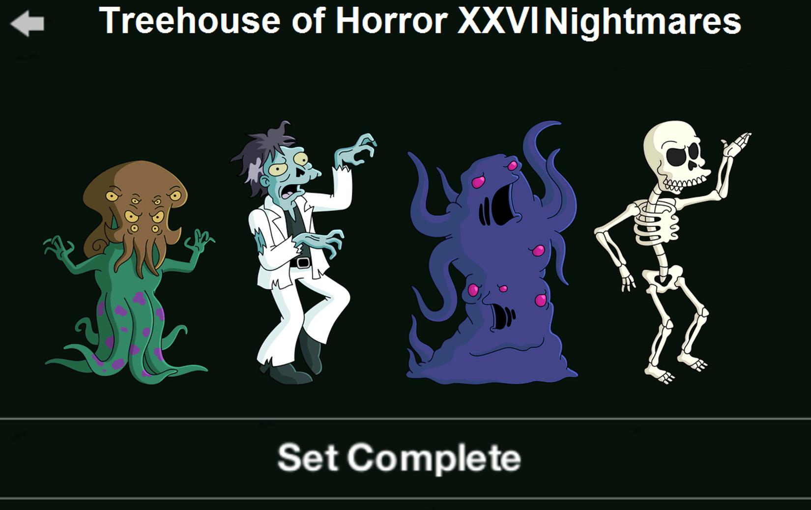 Treehouse of Horror XXVI Nightmares