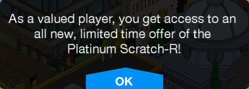 TSTO Platinum Scratch-R Message.png