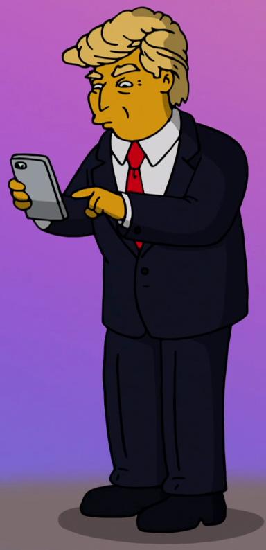 Trump The Simpsons