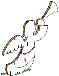 Tapped Out Festive Lawn Angel.png