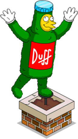 Tapped Out Tipsy Duff Topiary.png