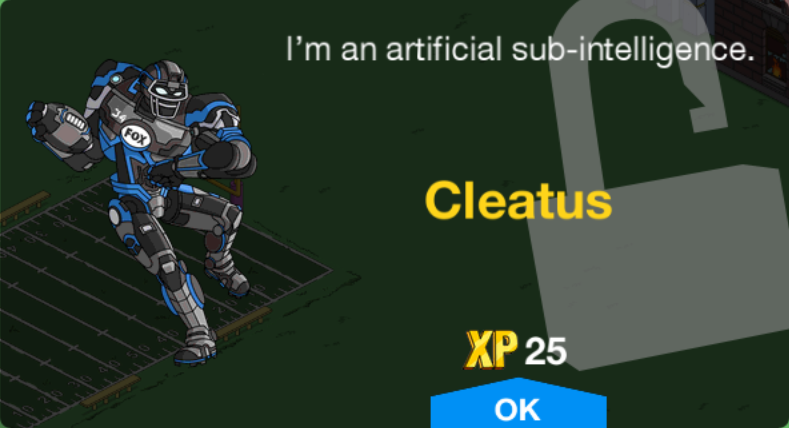 Cleatus Unlock.png