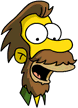 Tapped Out Lenny Icon - HipsterBeard.png
