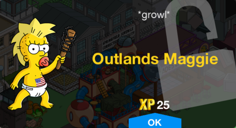 Outlands Maggie Unlock.png
