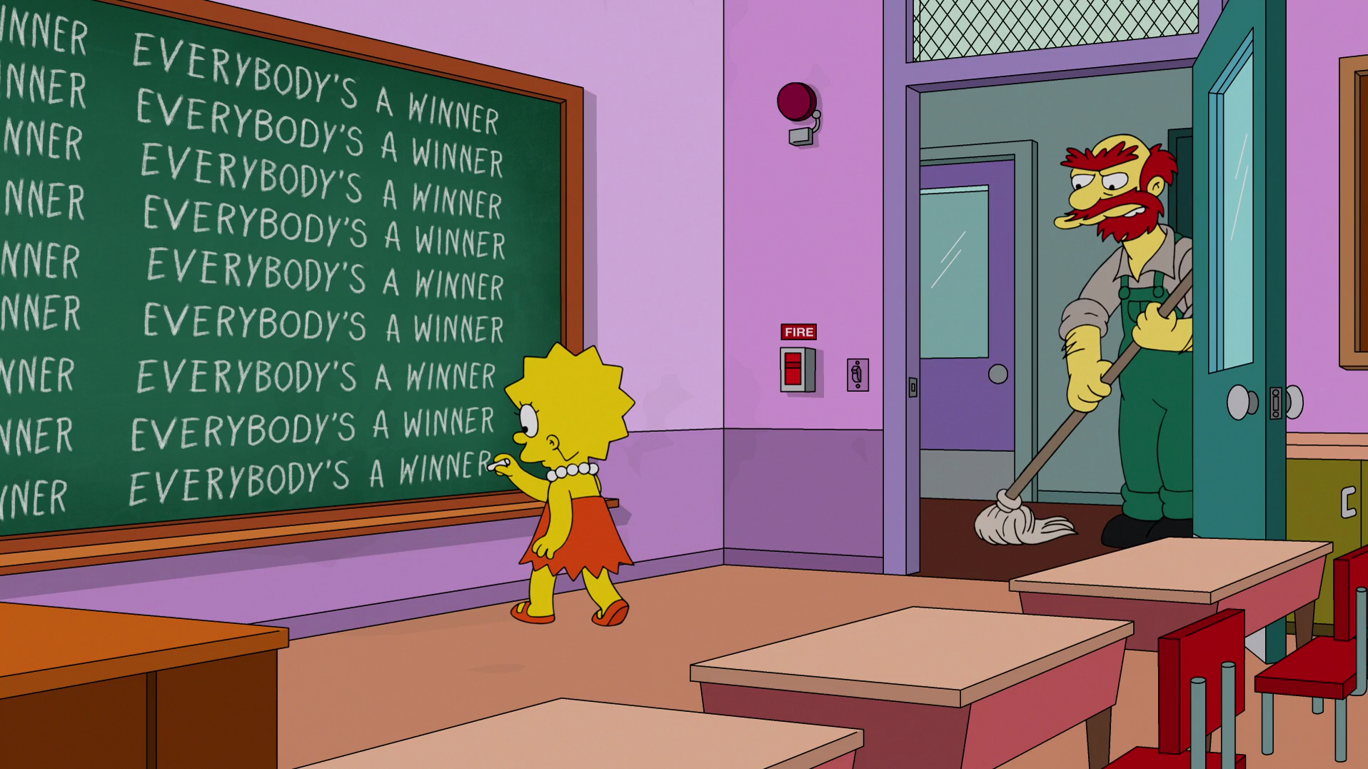 AFW chalkboard in-episode Lisa.png