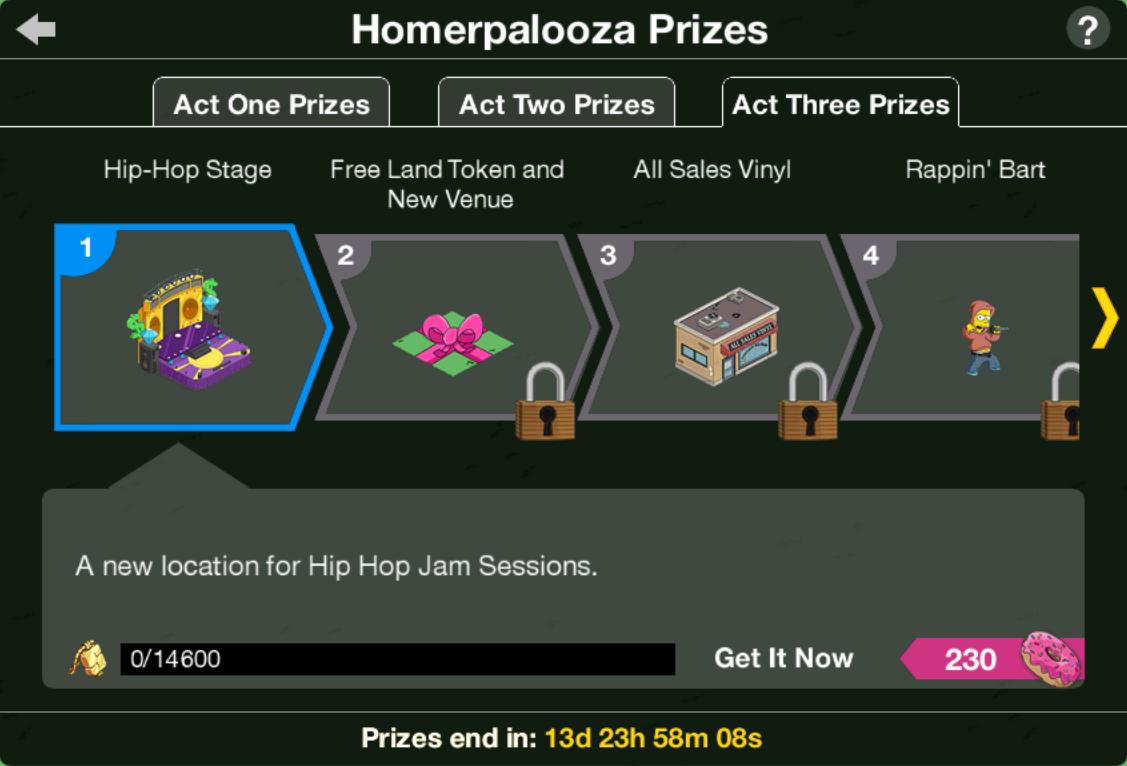 Homerpalooza Act 3 Prizes.png