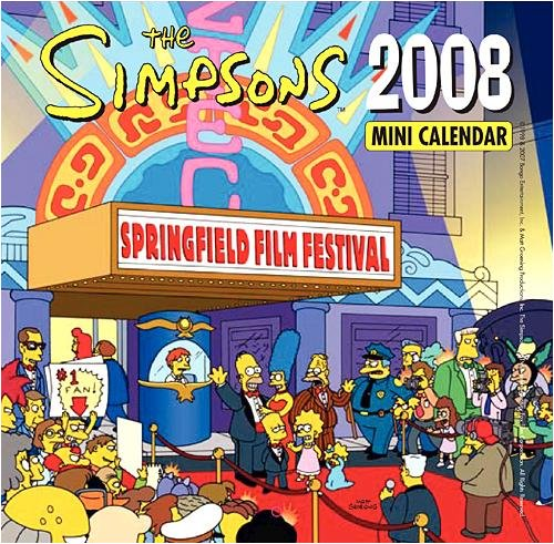 The Simpsons 2008 Mini Calendar.jpg