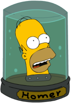 Homer Simpson Our Babies By Chnprod22