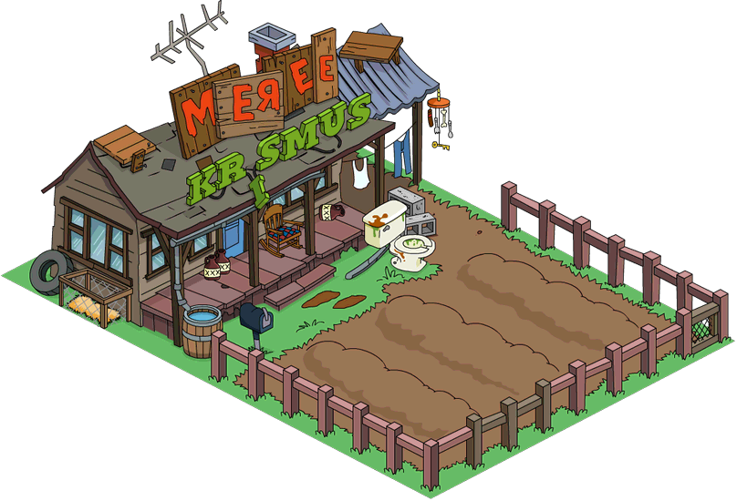 Tapped Out Festive Cletus's Farm melted.png