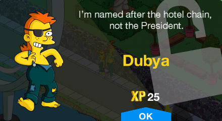 Tapped Out Dubya Spuckler New Character.png