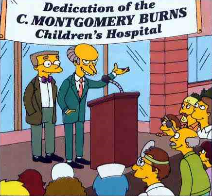 C. Montgomery Burns Children's Hospital.png
