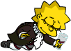 Tapped Out Lisa Drink Wrong Glass.png