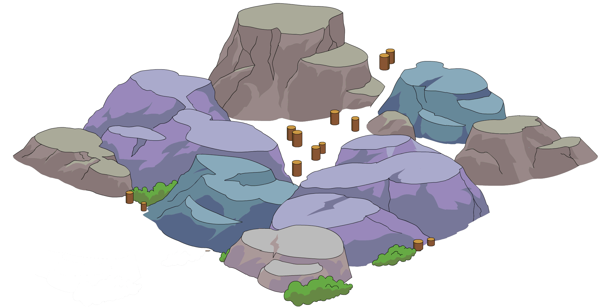 Tapped Out Mountain Destruction.png