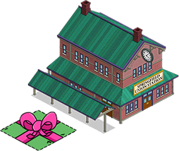 Springfield Union Station and Free Land Token.png