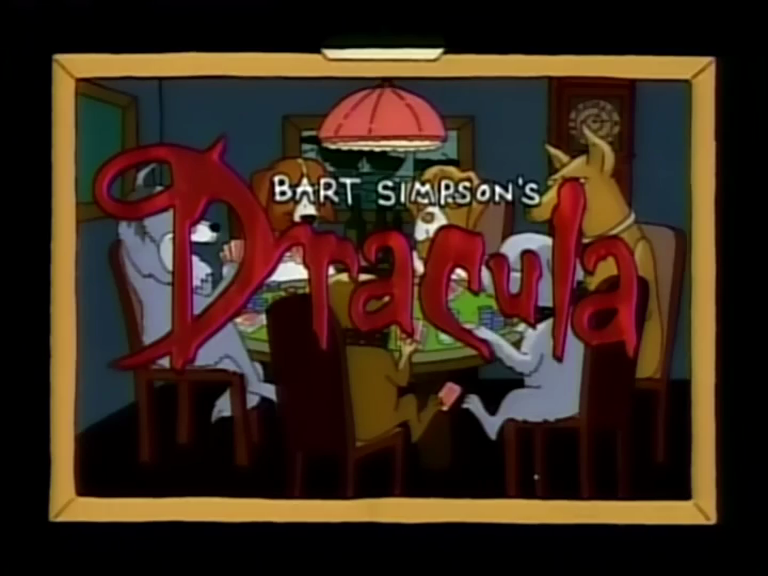 Bart Simpson's Dracula - Title Card.png