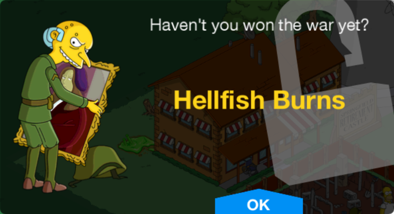 Hellfish Burns Unlock.png