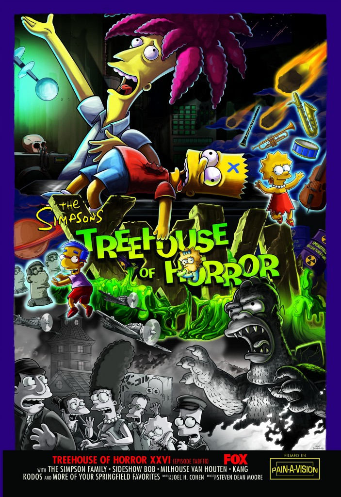 Treehouse of Horror XXVI promo poster.png