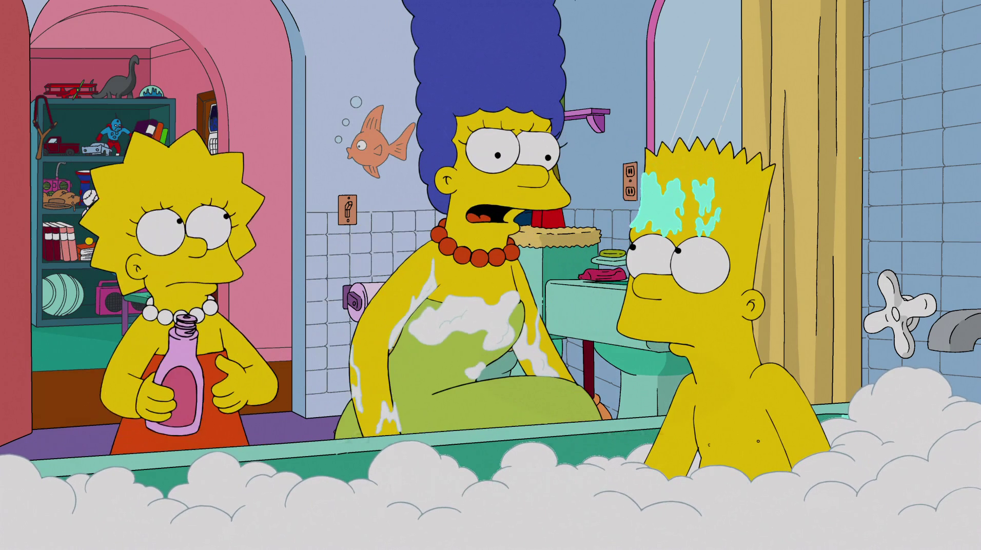 Simpsons dick
