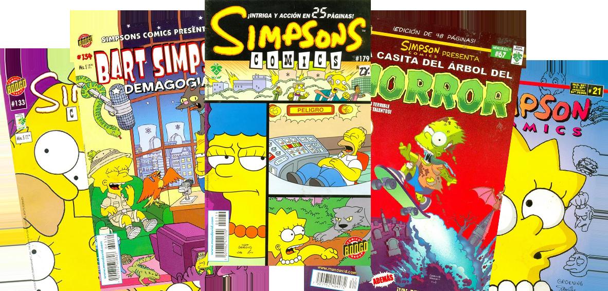 Simpsons Comics Mexico 3 logo.png