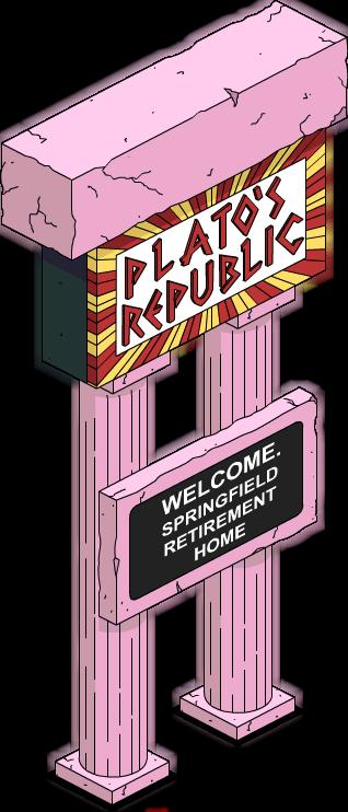 Platos Republic Sign.png