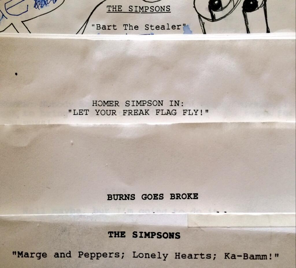 Simpsons Early Working Title Scripts.jpg