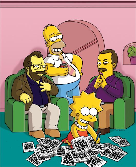 Homer and Lisa Exchange Cross Words promo.jpg