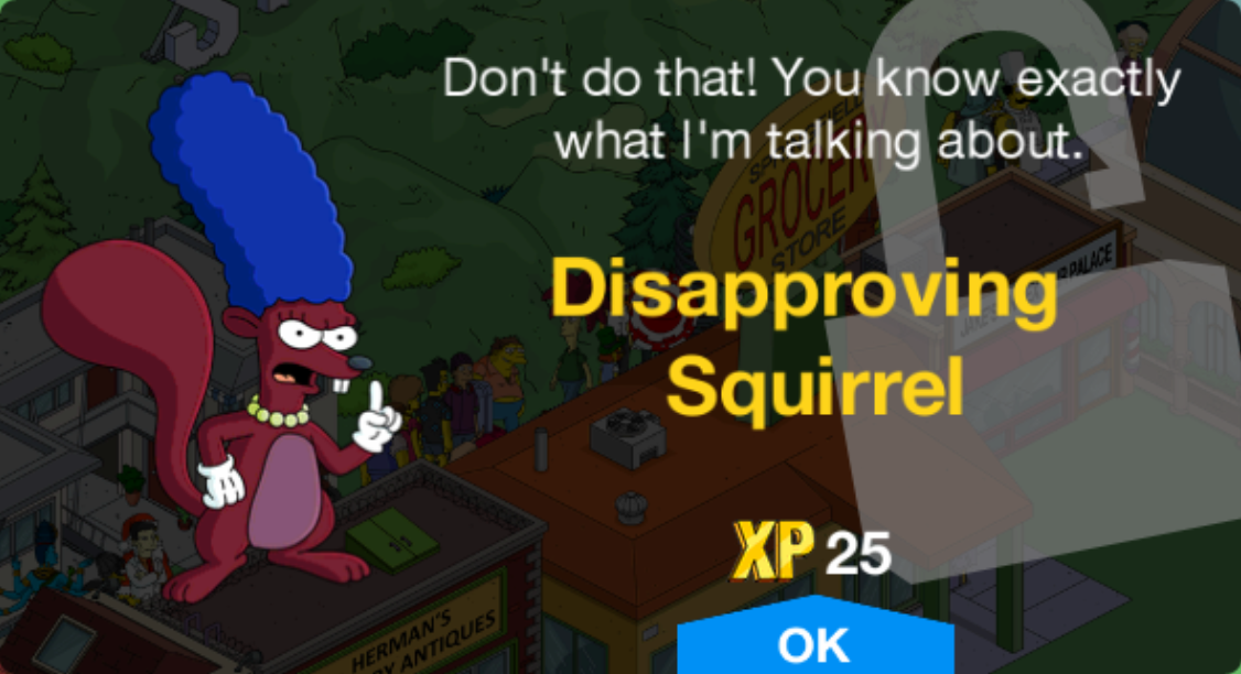 Disapproving Squirrel Unlock.png
